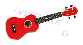 Укулеле Сопрано Baton Rouge NU1-S RED